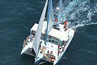 Catamaran Sailing for Groups in Cabo