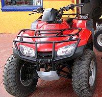 Renting an ATV in Ensenada Mexico