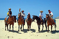 Migrino Beach Horseback Riding
