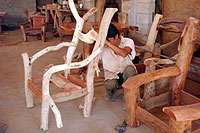 Furniture Makers in Miraflores Near Cabo San Lucas