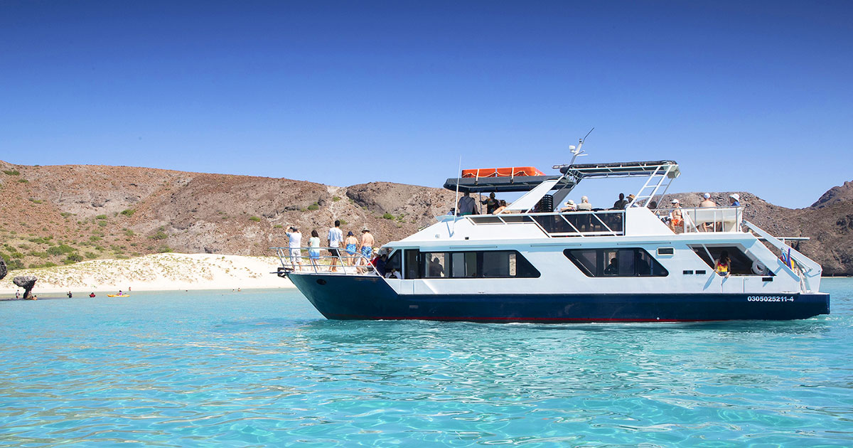 Private 100 Party Boat Cabo San Lucas