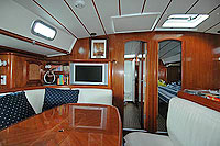 Private Sailboat Interior