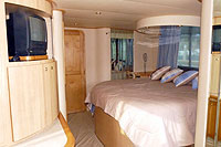 Stateroom - Los Cabos Luxury Yacht Charter